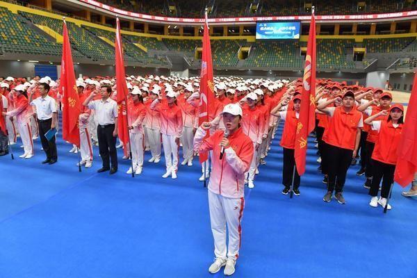 迎民族盛会 郑州近500名志愿者举行誓师大会