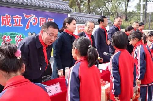 """""""童悦工程""""公益活动走进百个村镇校"""