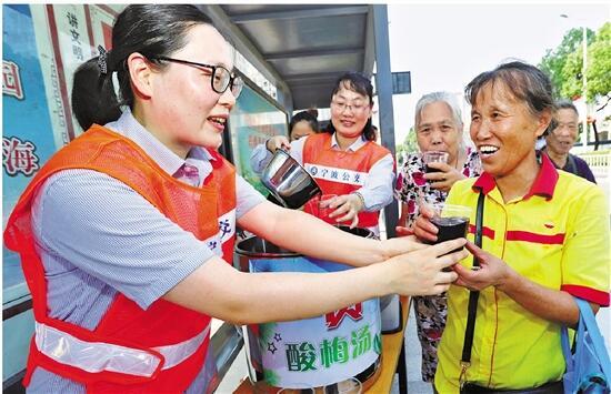"""宁波公共交通志愿服务:擦亮城市文明的""""窗口"""""""